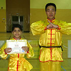 Congratulations to all who passed the kung-fu belt test