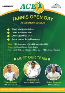Ace Flyer Open Day