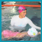 New Swimming Coach Oriana
