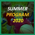 SUMMER PROGRAM 2020 is ready to go!