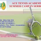 Tennis Camp in Serbia