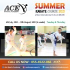 Summer Karate Course 2021