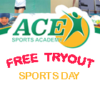 Free Try-out sports day
