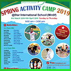 Ace Spring Activity Camp 2019